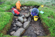 Click to enlarge image of Shaw Cairn Excavation
