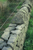 Click to enlarge image of construction of new drystone wall near Moorfield Arms